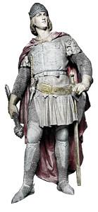 """Ludwig V. von Wittelsbach, genannt """"Ludwig der Brandenburger"""" (* Mai 1315; † 18. September 1361), ältester von sechs Söhnen des Kaisers, war Anfang der 1340er Jahre der begehrteste Junggeselle im """"Heiligen Römischen Reich deutscher Nation"""". Schon im Alter von acht Jahren hatte ihn Kaiser Ludwig mit der Markgrafschaft Brandenburg belehnt; als ältester war er zudem Anwärter auf das Herzogtum Bayern. Der """"Brandenburger"""" war von stattlicher Gestalt und er hatte sich bereits in jungen Jahren als Kriegsmann hervorragend bewährt. Am 08. Februar 1342 entschied Kaiser Ludwig zu Meran als """"oberster Richter des Reiches"""" kraft seines auf göttlichem und weltlichem Recht gegründeten Amtes auf """"anullatio"""" der Ehe zwischen Margarethe von Tirol und Johann Heinrich von Luxemburg. Am 10. Februar 1342 wirkte Kaiser Ludwig als Standesbeamter, was im 14. Jhdt im """"Heiligen Römischen Reich"""" ebenfalls ein Novum war. Er verheiratete seinen Sohn Ludwig, Markgraf von Brandenburg, mit Margarethe, Gräfin von Tirol, nach staatlichem Recht."""