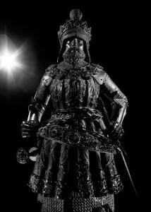 Die Schwarzen Mander. © Stephan Elsler http://www.stephanelsler.com. Ernst der Eiserne (* 1377 in Bruck an der Mur; † 1424 ebenda), Großvater Maximilians; Gatte der Cimburgis, Herzog von Innerösterreich