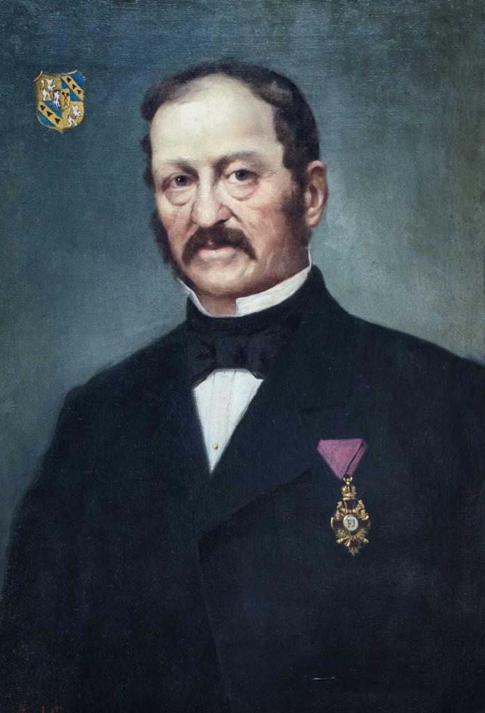 Dr. Hieronymus von Klebelsberg zu Thumburg, Landeshauptmann vom 22. März 1861 bis 26. Februar 1862