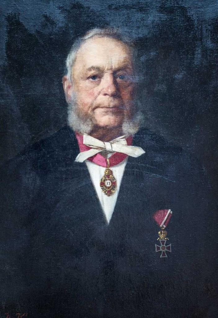 Dr. Johann Kiechl, Landeshauptmann vom 20. Dezember 1862 bis 22. Dezember 1866