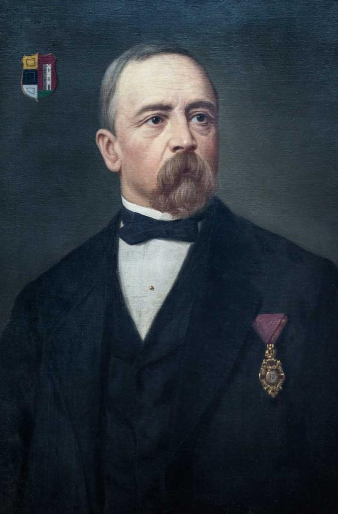 Dr. Eduard von Grebmer zu Wolfsthurn war Landeshauptmann vom 29. Juli 1869 bis August 1871 (Auflösung des Landtages)