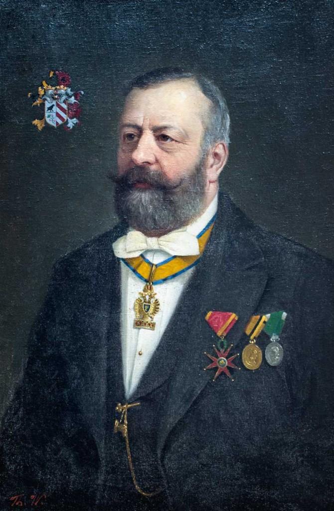 Dr. Franz Xaver Rapp, Freiherr von Heidenburg war Landeshauptmann vom 14. September 1871 bis 11. April 1877 sowie vom 29. Juli 1881 bis 19. September 1889