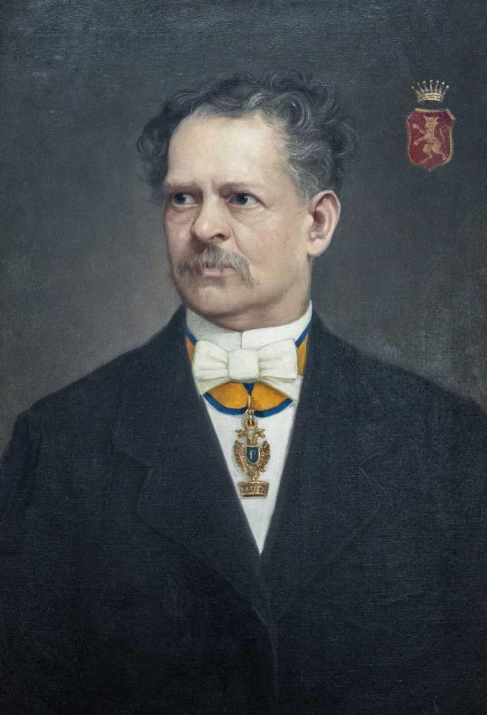 Dr. Wilhelm von Bossi-Fedrigotti von Belmonte war Landeshauptmann vom 11. April 1877 bis 8. Juli 1881