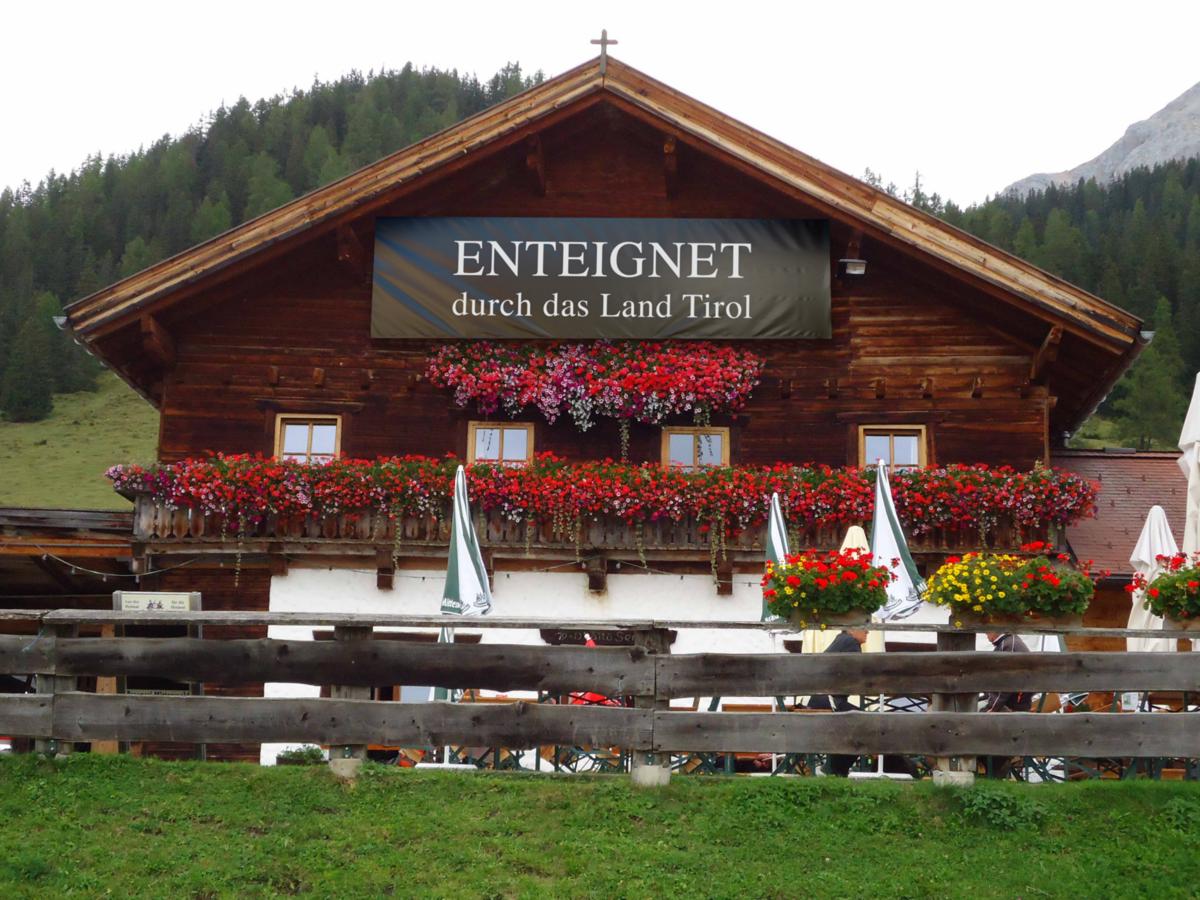 Enteignet durch das Land Tirol